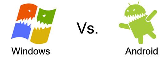 Windows vs. Android operációs rendszer