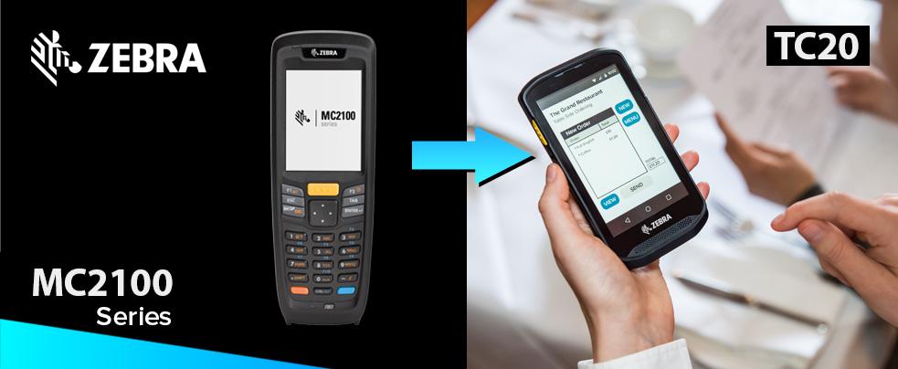 Megszűnik a Zebra (Symbol/Motorola) MC2180 vállalati adatgyűjtő, utódja a belépő szintű Zebra TC20