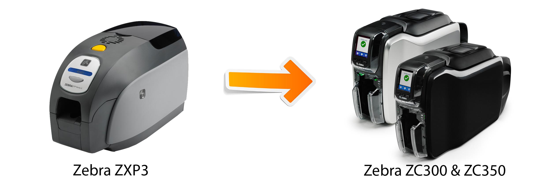 Zebra ZC300, Zebra ZC350