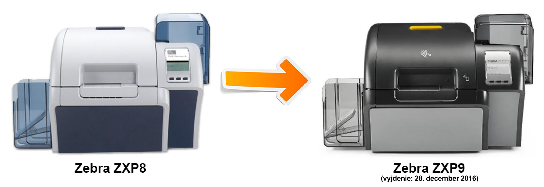 Tlačiareň plastových kariet Zebra ZXP 9