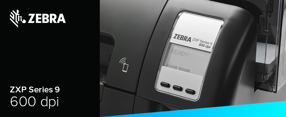 Zebra ZXP9 600 dpi plasztikkártya nyomtató